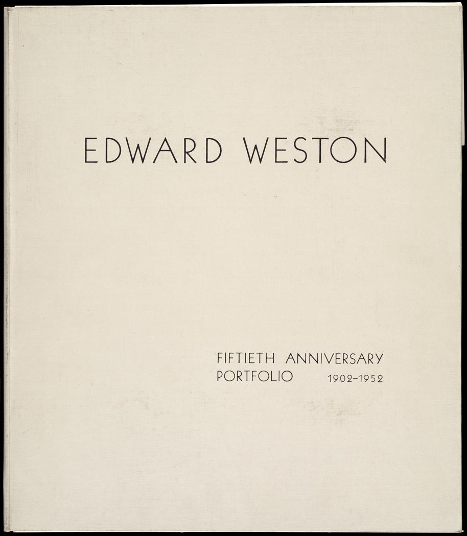 Edward Weston 50th Anniversary Portfolio Cover.jpg