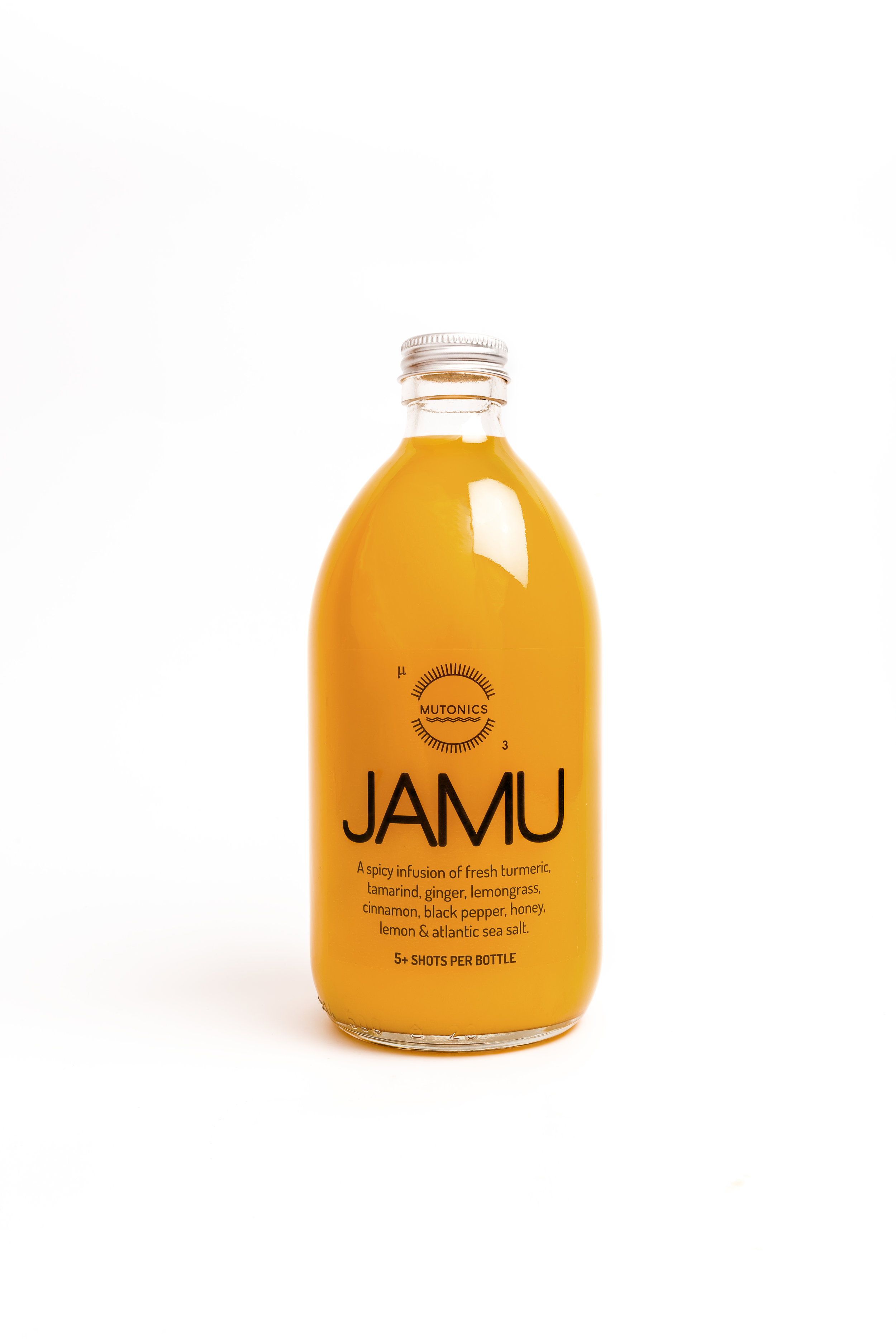 F.A.Q's - WHAT IS JAMU?It is an Indonesian health drink.  It's main ingredient is turmeric.  There are many variations on the recipe. We also add lots of ginger & tamarind, cinnamon, honey, lemongrass, black pepper & Atlantic sea salt.WHERE IS YOUR PRODUCTION FACILITY?West Cork, Ireland!!WHAT DOES JAMU TASTE LIKE?There is a comforting aromatic flavour from the fresh turmeric, a sweet/sour tang from tamarind, a peppery and spicy hit from the pepper & ginger - subtle hints of cinnamon & lemongrass and a refreshing citrus burst from lemons. We add a small amount of honey to bring a balance to the strong flavours but it is not at all sweet - we constantly have to tell consumers that it is not a juice. WHEN DO YOU DELIVER?We send out Monday - Thursday using next day delivery courier service.IS THERE A RECOMMENDED AMOUNT I SHOULD TAKEYou can drink as much or as little as you like but we recommend a small glass first thing in the morning. it's also good post work out or in the morning after a big night out!!WHAT ARE THE BENEFITS OF EATING TURMERIC?It's a wonder spice that has been used for thousands of years for it's beneficial health properties. Supplementing turmeric in to your diet can benefit the whole body. It is most famous for it's anti inflammatory qualities but research shows that it is high in antioxidants and is said it can help your body to repair cells. It is also said to help boost the immune system and is good for the skin and digestive system. Turmeric is also a great prebiotic - this means it helps feed the good bacteria in our guts which in turn can improve your mood and energyWe love turmeric and turmeric loves us!HOW MUCH TURMERIC IS IN EACH 500ml BOTTLE?Each of our 500ml bottle contains 3,700mg of turmeric and contains enough for a 100ml shot for 5 days.DO I DRINK IT STRAIGHT OR DO I DILUTE IT?No need to dilute but of course you can. Some suggestions: It is lovely warm - 1 part Jamu to 1 part hot water.  It is also nice used in a Golden Milk recipe.  Another good use is to put a shot in to your water bottle to take with you when you exercise.Is Jamu a Juice?It is not a Juice!When making Jamu we use a cooking process to release the Curcumin (the active compound within turmeric) and make it more easily absorbed.Fresh root turmeric plays very hard to get when it comes to nourishing us so it is good to know a few tricks..Cooking is one of the best tricks. Fresh turmeric eaten raw makes actually makes our system work harder.Why do you add black pepper?Well, the truth is there is not much point having turmeric without it! Piperine, the chemical compound found in pepper lends a hand in getting curcumin through the intestinal wall and in to the bloodstream. Essentially, pepper helps us to absorb the beneficial Curcumin within turmeric.Why is there salt in your JAMU?The potassium from turmeric and the addition of Atlantic sea salt create the perfect re-hydrating, post-workout recovery beverage that restores your body's electrolytes to healthy levels.How long does Jamu keep?It has a 21 day shelf life. As soon as it is opened it should be refrigerated and consumed within a week. Mainly to get the goodness into you,How should I store my JAMU?Keep it chilled in the fridge until you're ready to consume it. Avoid leaving it out in the heat or in direct sunlight for extended periods of time.