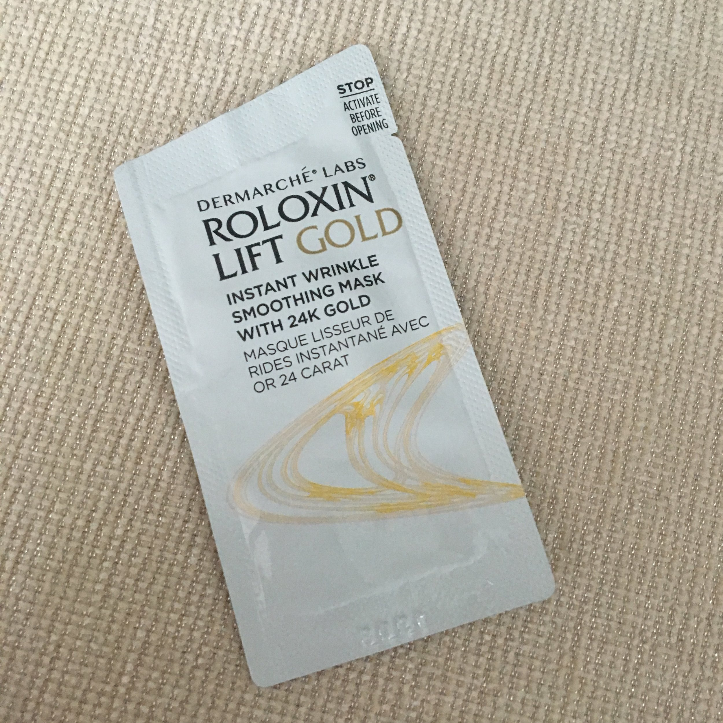 Roloxin Lift Gold Mask