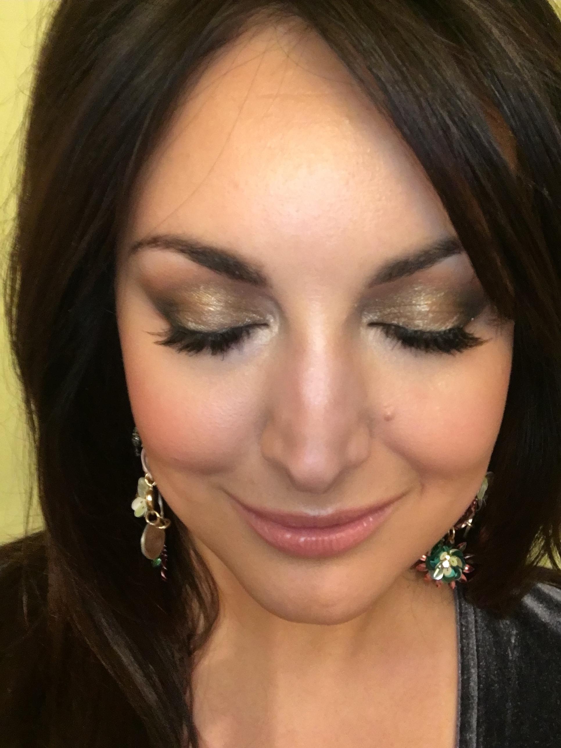 NYE Sparkles Makeup