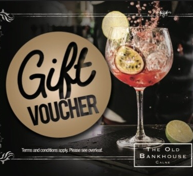 Or... Buy them a drink, or two!  With no set voucher amounts, the amount you want to give is chosen by you making this a flexible gift idea.
