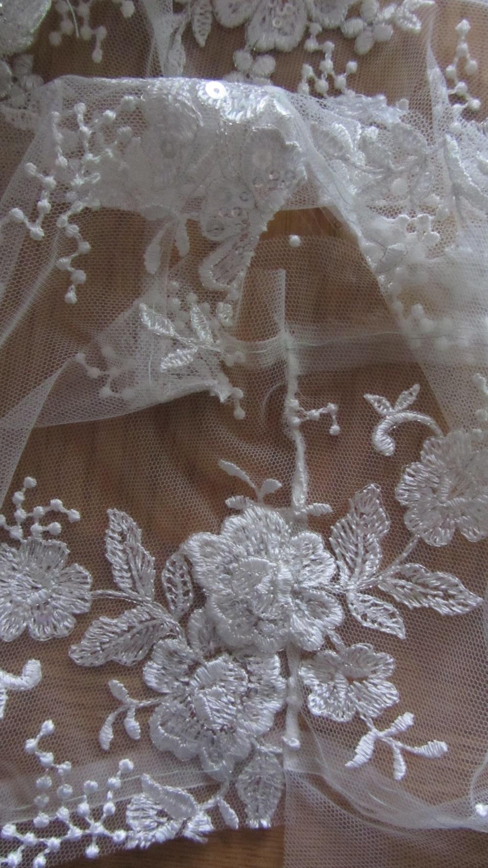 Handmade wedding dress lace bodice applique shoulder seams 2.jpg
