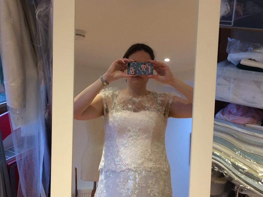 Handmade wedding dress lace bodice.JPG