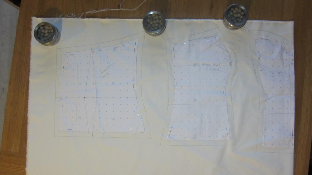 Handmade wedding dress bodice pattern.JPG