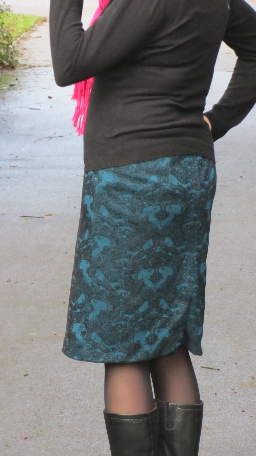 Self drafted pencil skirt.jpg