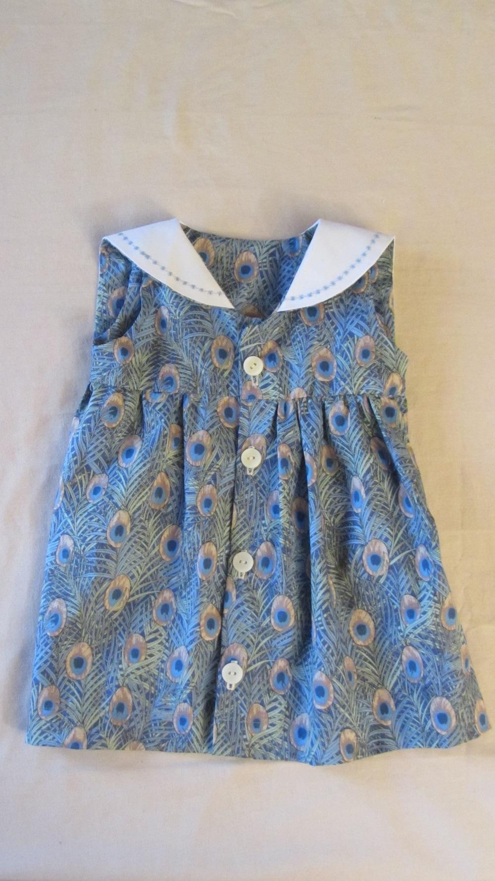 Baby Sailor Peacock Dress.JPG