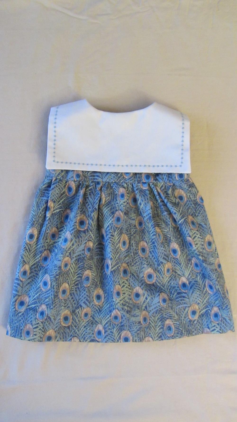 Baby Sailor Peacock Dress 4.JPG