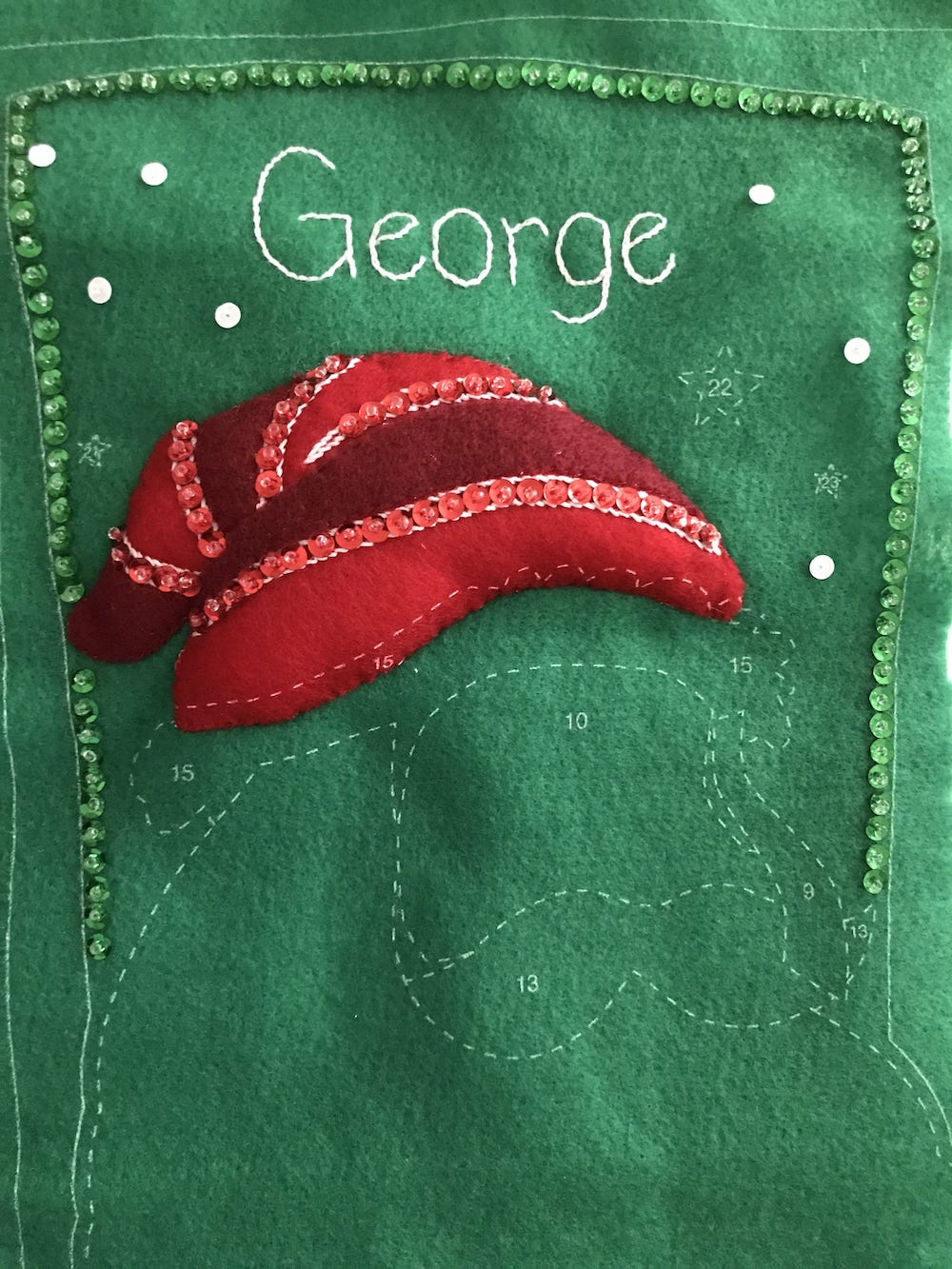 Dimensions Felt Applique Father Christmas Stocking Hat.jpg