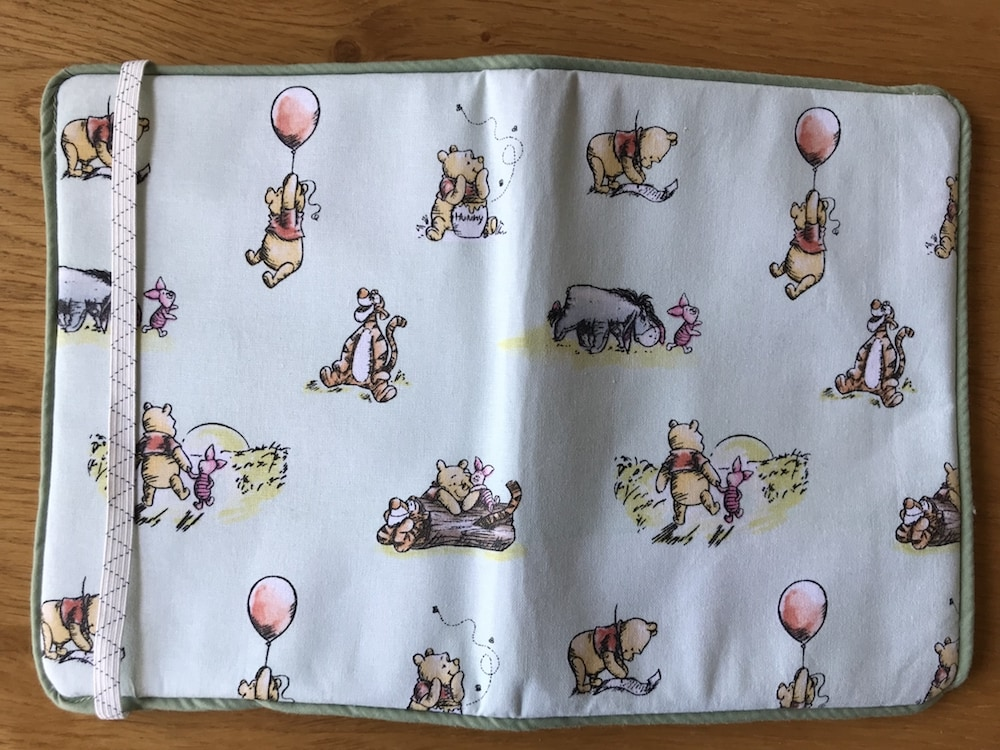 Visage Textiles Winnie the Pooh and Friends cotton fabrc Kindle Cover.jpg