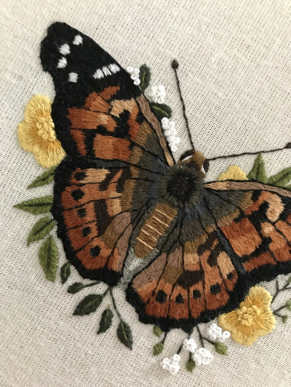 Painted Lady Butterfly thread painting embroidery.jpg