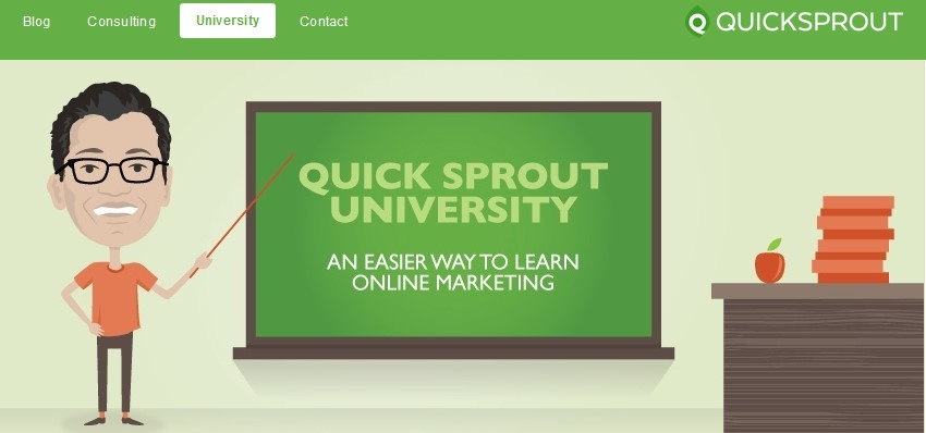 Quick Sprout University