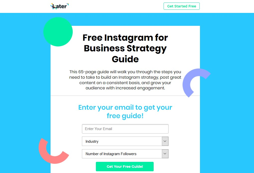 Ebook marketing strategies for Instagram