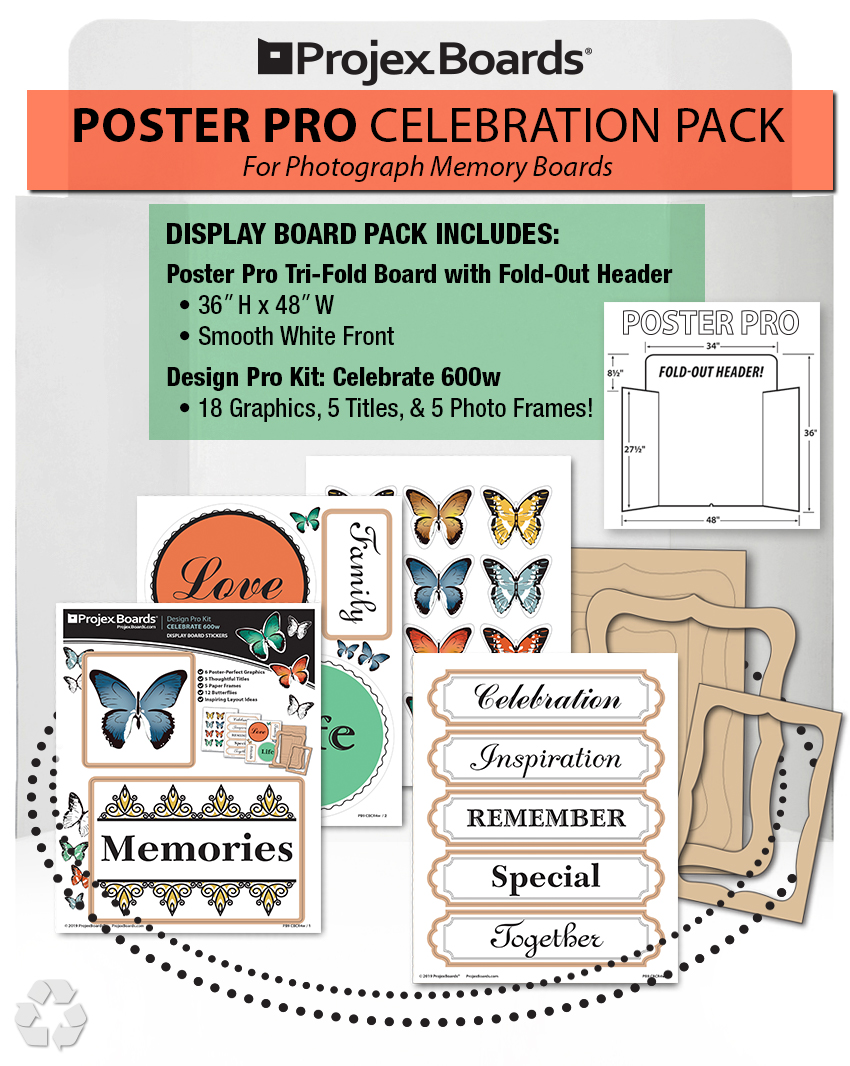 ALL-NEW POSTER PRO CELEBRATION PACK $29.99 - MEMORY bOARDS MADE eASY