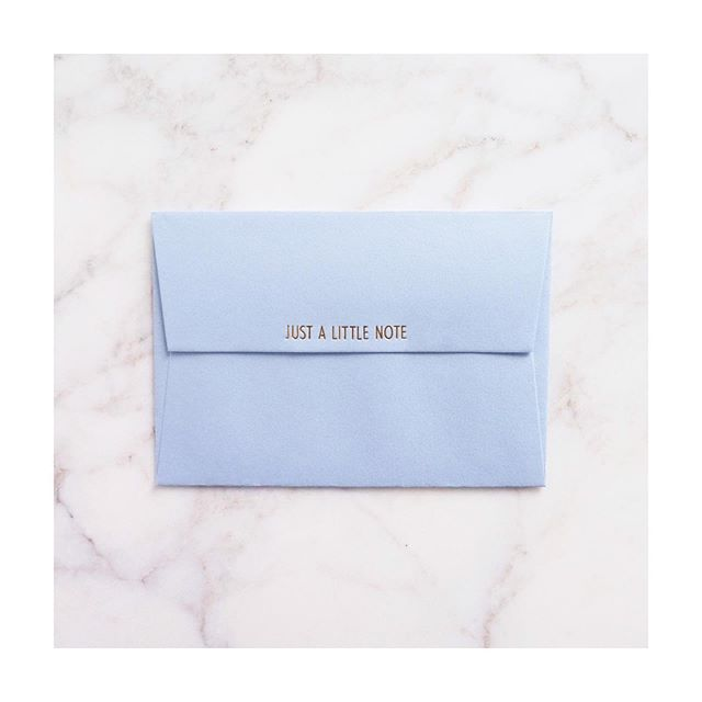 Just a little note to say... What do you want to say to someone? Can you put it in a note? 💌