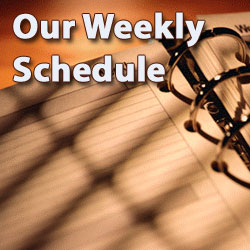 Click here to see the weekly schedule at St. Paul's