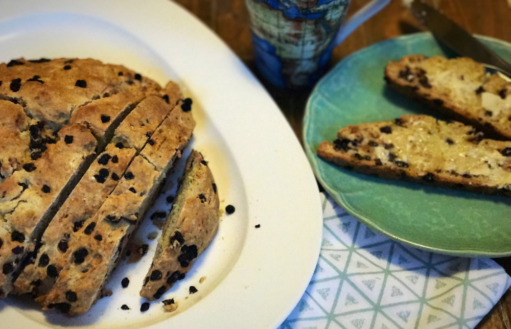 vegan irish soda bread st patricks day