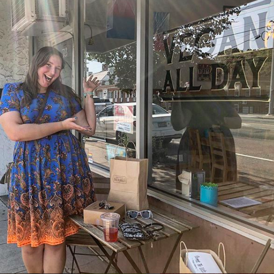 Vegan ALL DAY at Sweet to Lick, 7/18