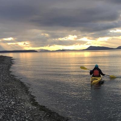 'Yaking on Orcas Island, WA