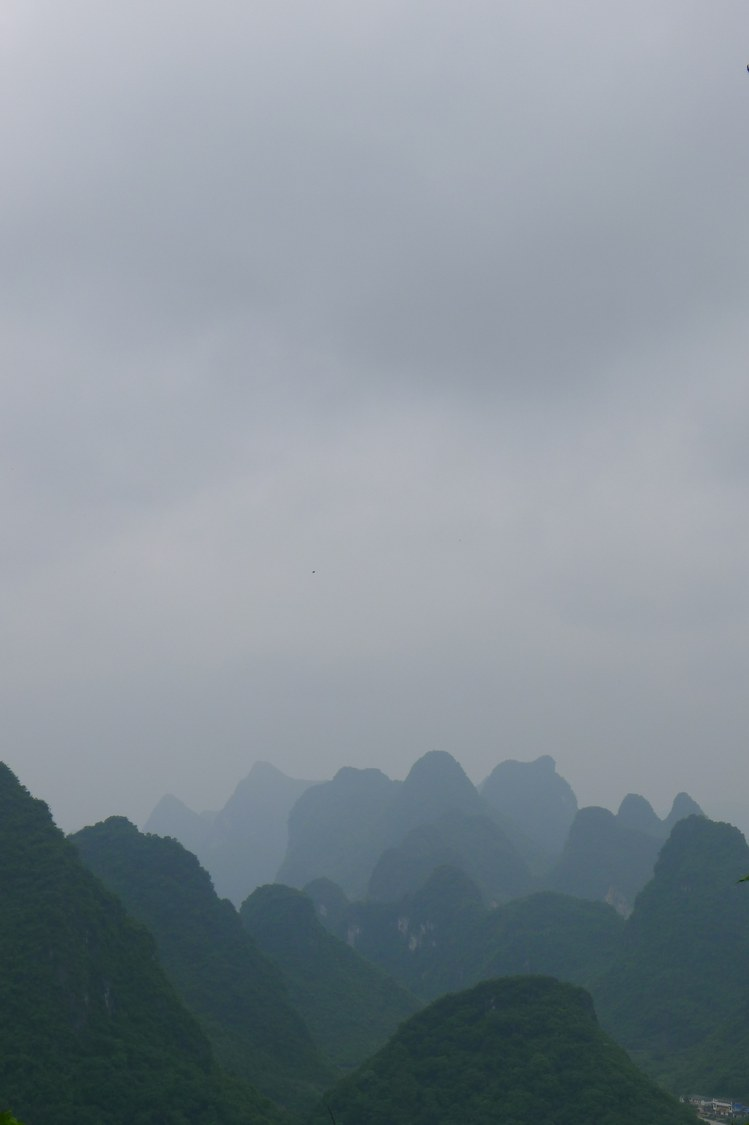 Mountains near Yangshuo, China