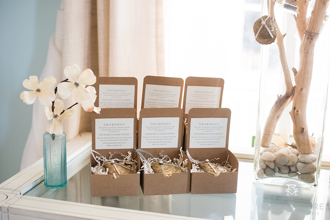 Grit and Grace oyster shell gifts by Rachel Gordon