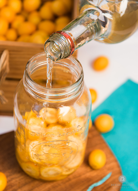 Kumquat Cardamom Liqueur Recipe
