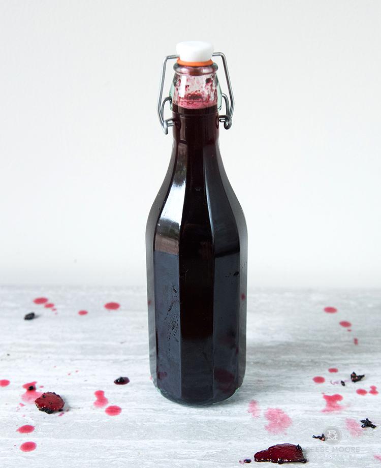 Mulberry Strawberry Basil Shrub: Savor the Season and Eliminate Food Waste