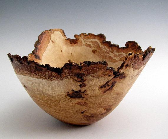 Oak Burl Bowl