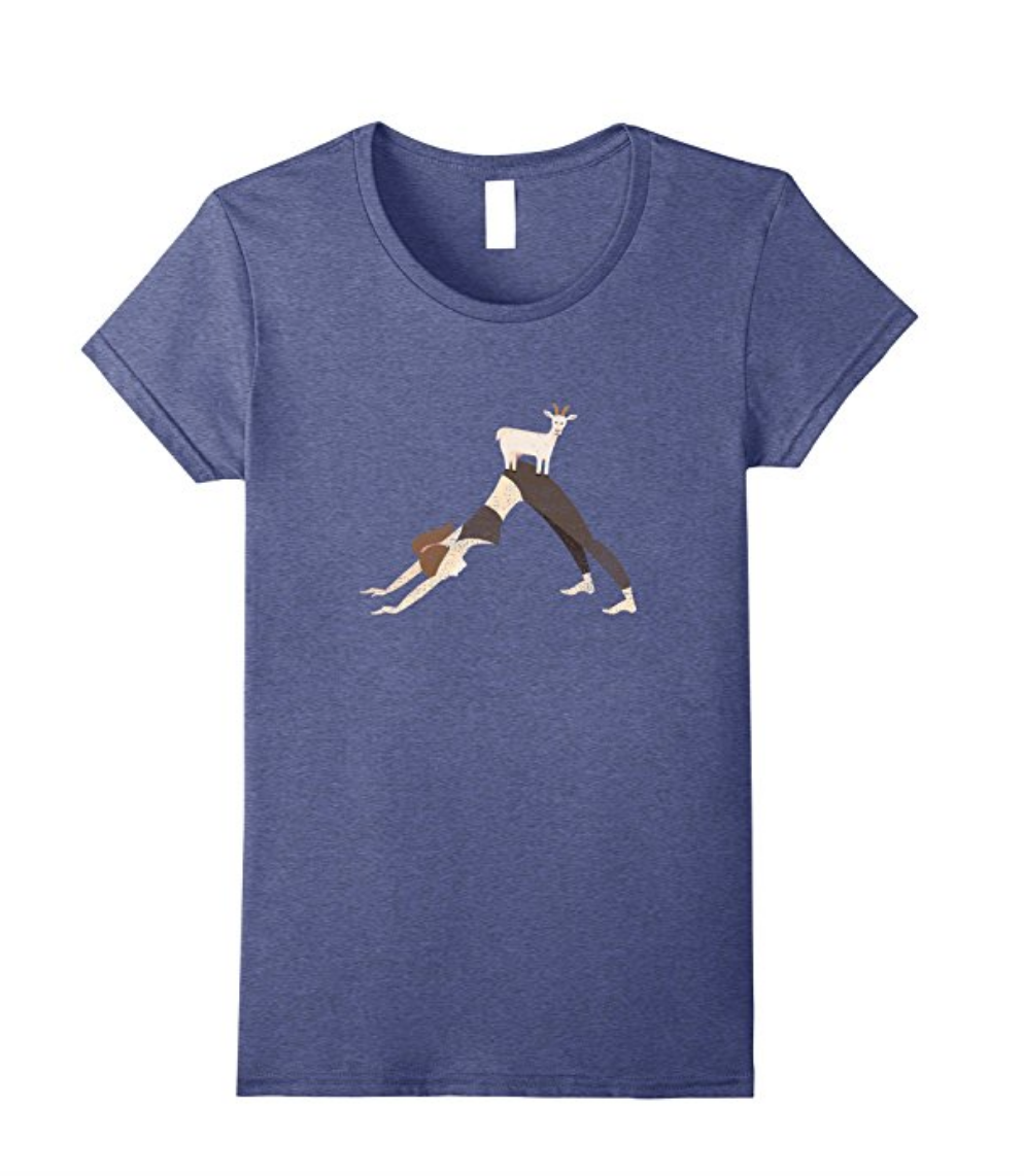 Goat Yoga Shirt