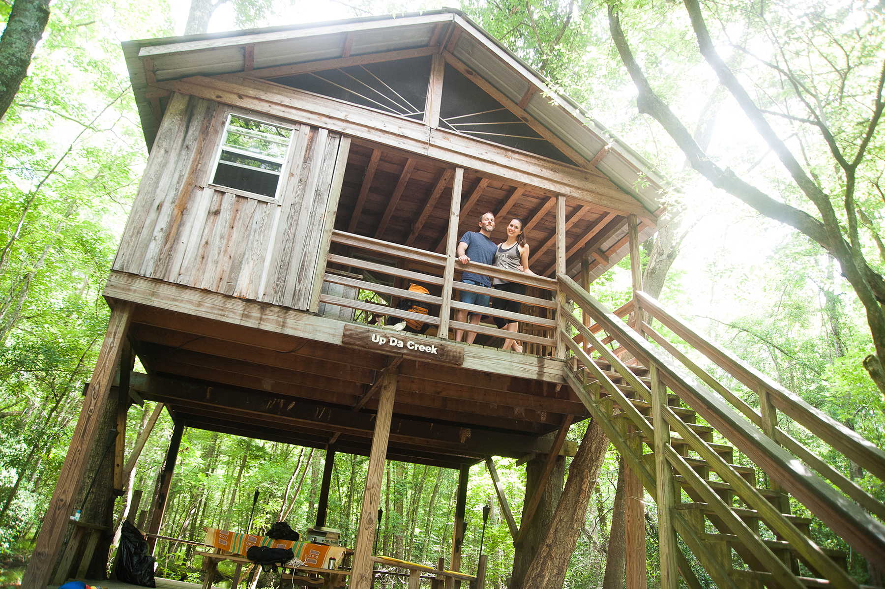 Edisto River Treehouses: Getting Away From It All
