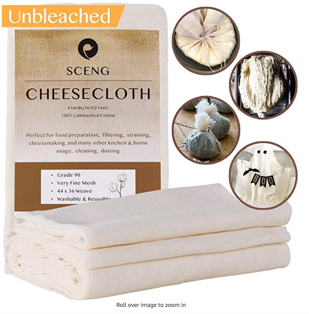 Unbleached Cheese Cloth