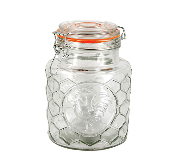 Rooster Canning Jar