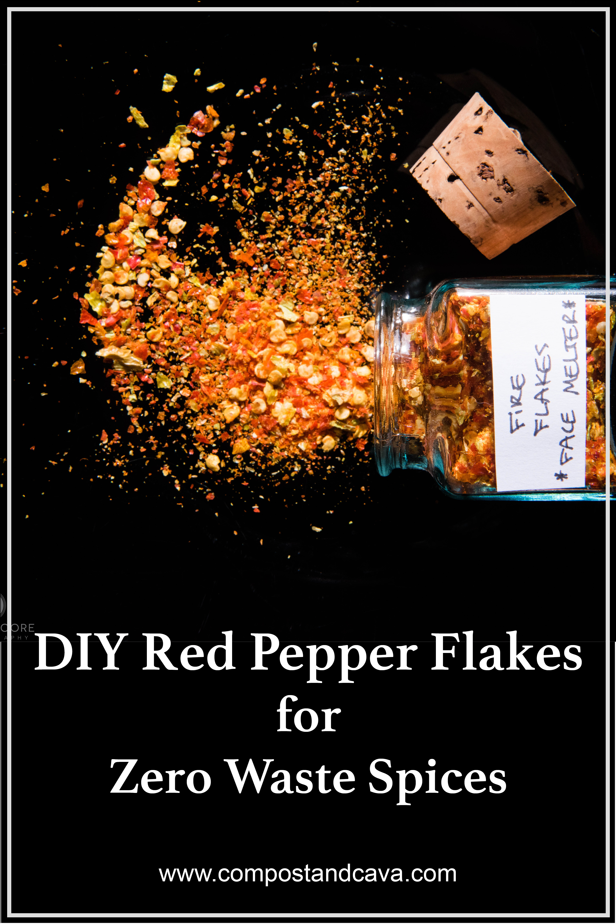 DIY Red Pepper Flakes for Zero Waste Spices