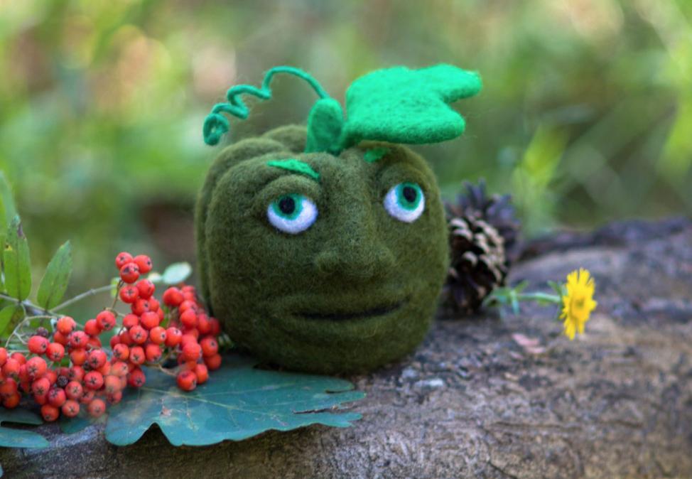 Merino Wool Pumpkin