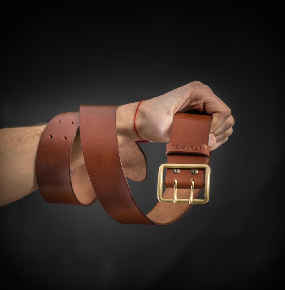 $98.00 Vintage WW2 Buckle Belt