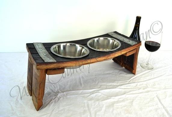 $170.00 Reclaimed Dog Bowls