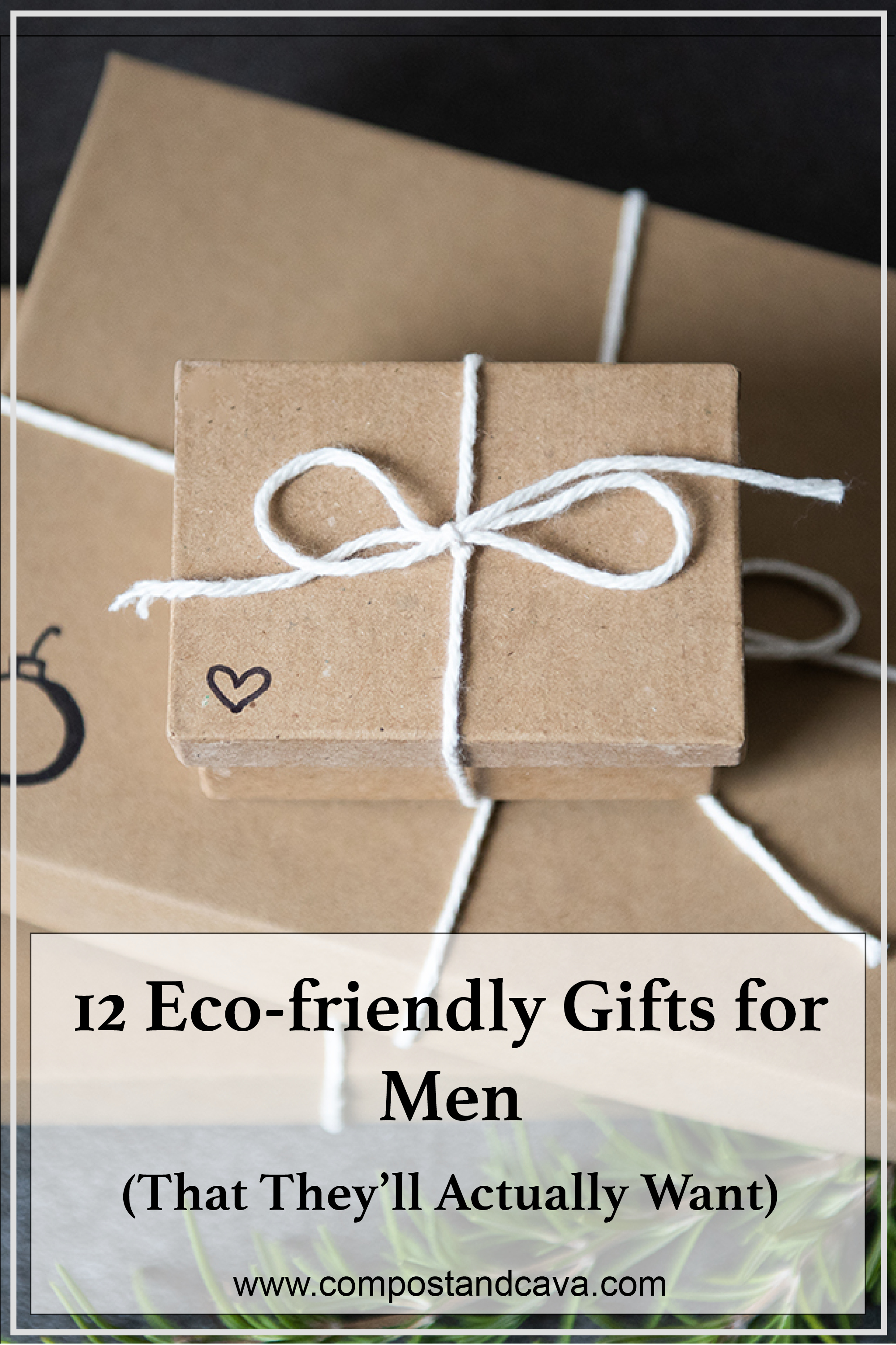 12 Eco-friendly gifts for men