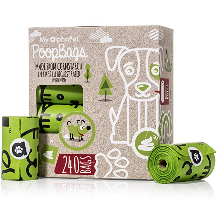 Compostable Pet Waste Bags ($28.00)