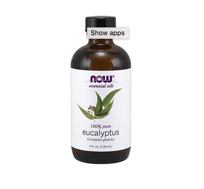 Eucalyptus Essential Oil ($10.99)