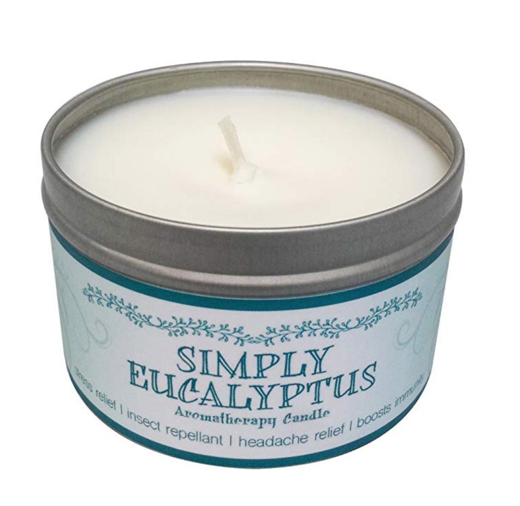 Soy Eucalyptus Candle ($10.50)