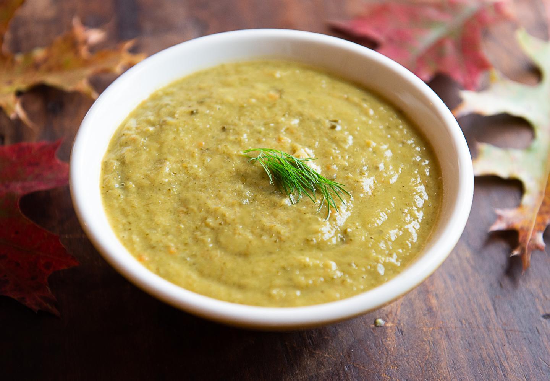 Rich, Healthy Broccoli Leek Soup (Zero Waste)