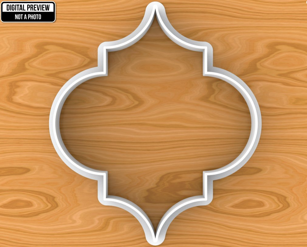 Quatrafoil Cookie Cutter