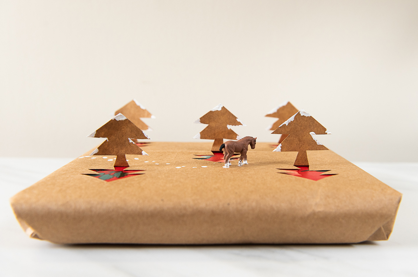 DIY Zero Waste 3D Wrapping Paper from Upcycled Shopping Bags