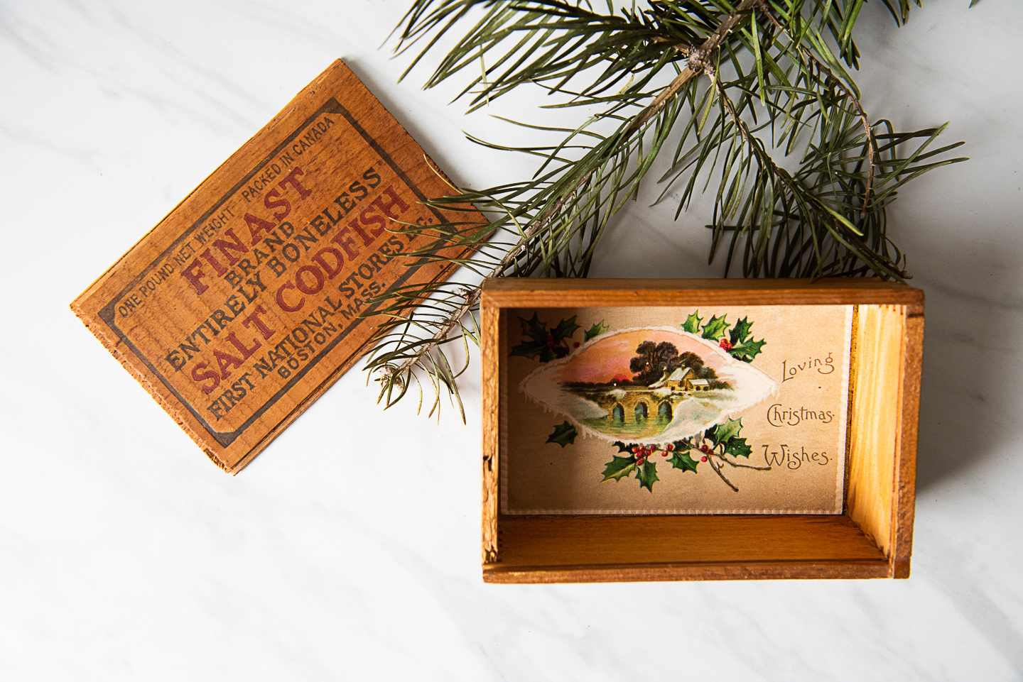 DIY Christmas Block Puzzle Made From Upcycled Vintage Postcards-7813.jpg