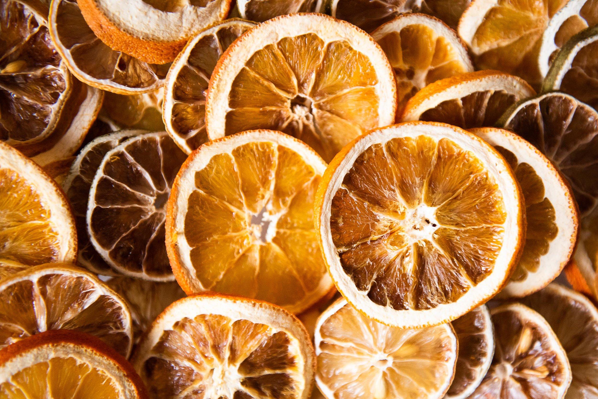 what to do with dried orange slices zero waste
