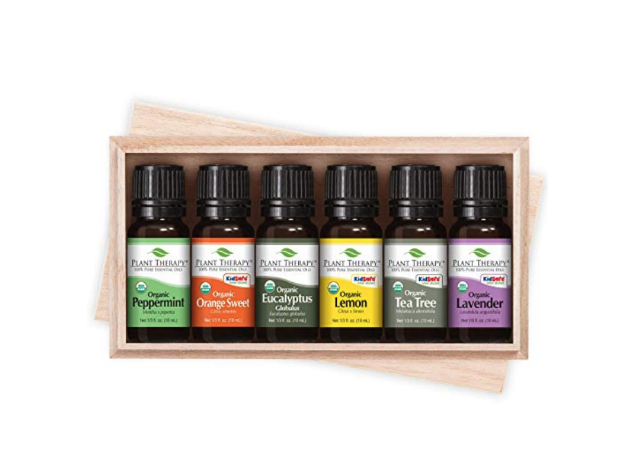 Organic Essential Oils ($29.00)