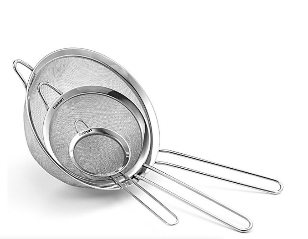 Kitchen Sieves ($12.99)