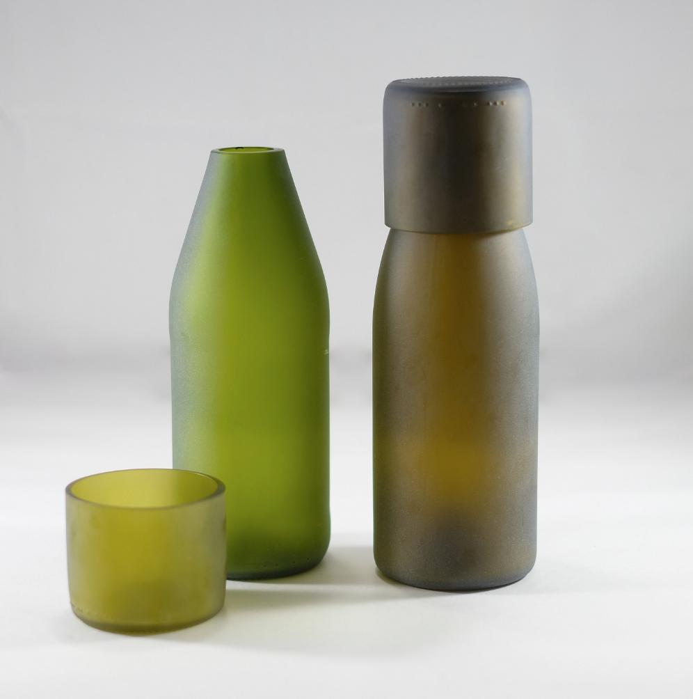 Upcycled Bottle Tumblers