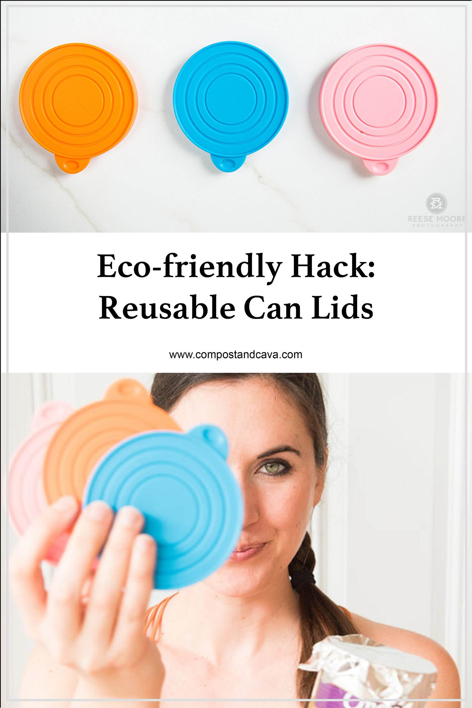 Eco-friendly Kitchen Hack- Reusable Can Lids