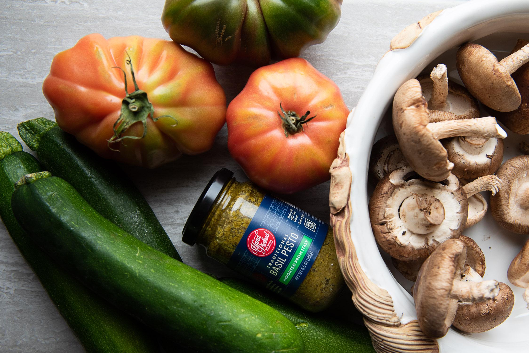 Zero waste recipe for zucchini noodles