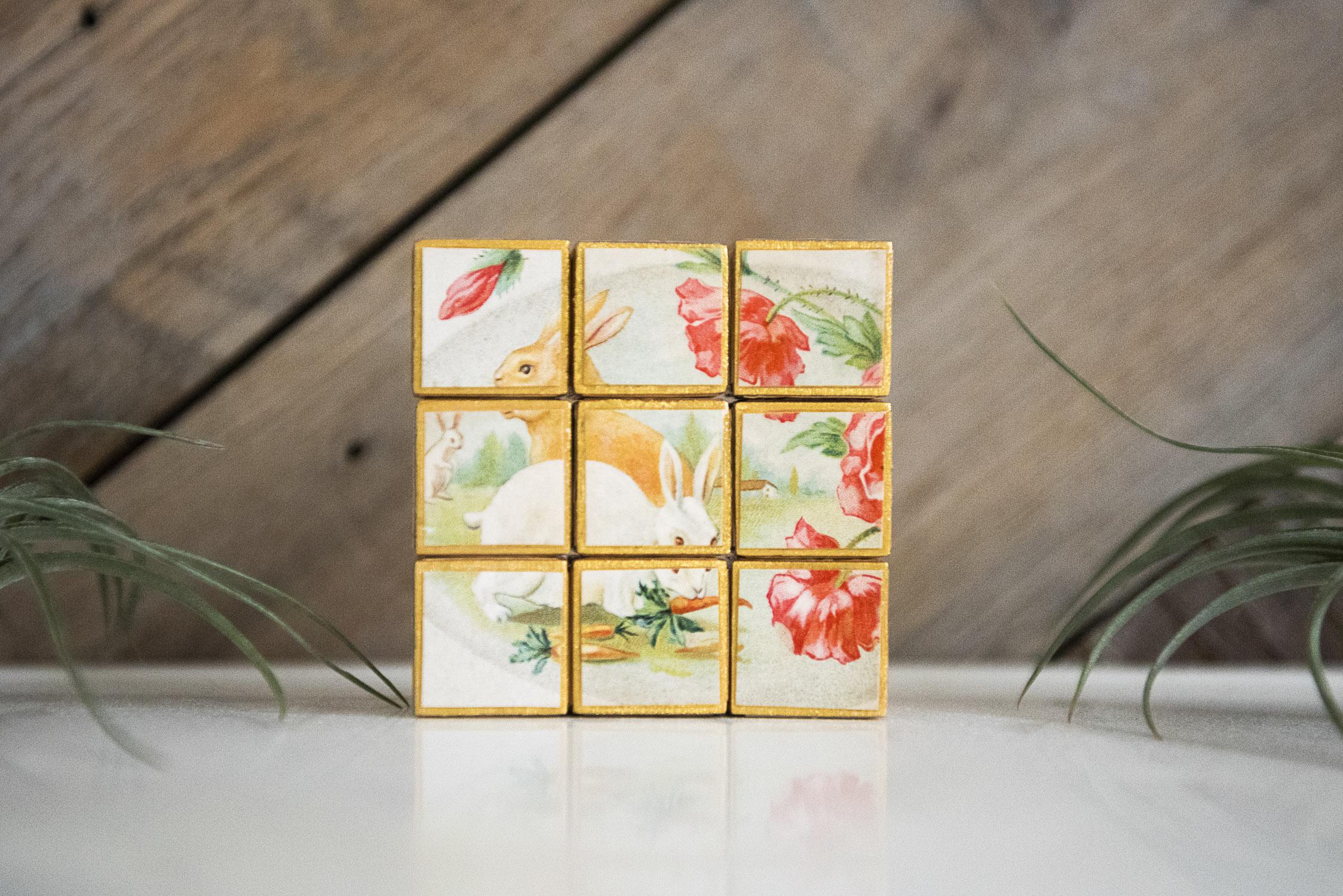 Handmade Block Puzzle
